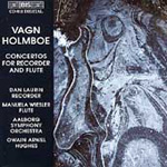 Produktbilde for Holmboe: Concertos for Flute and Recorder (CD)