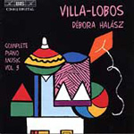 Villa-Lobos: Pieces for Children (CD)