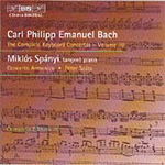 Bach, CPE: The Complete Keyboard Concertos, Vol. 10 (CD)