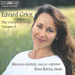 Grieg Songs, Vol 3 (CD)