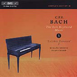 Bach, CPE: The Solo Harpsichord Music, Volume 5. (CD)