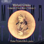 Glinka - Complete Piano Music, Volume 1 (CD)