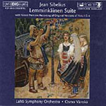 Produktbilde for Sibelius: Lemminkäinen Suite (CD)