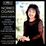 Saint-Saëns: Concertos for Piano and Orchestra Nos. 1 & 2; Suite in D (CD)