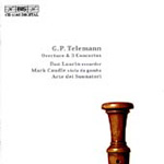 Telemann: Overtures and Concertos (CD)