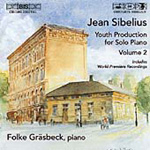 Sibelius Youth Production for Solo Piano, Vol 2 (CD)