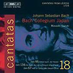 Bach: Cantatas, Vol 18 (CD)