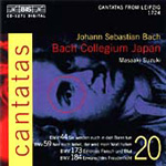 Bach: Cantatas, Vol 20 (CD)