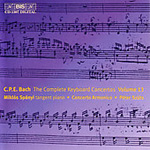 Bach, CPE: The Complete Keyboard Concertos, Vol 13 (CD)