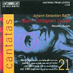 Bach: Cantatas Vol 21 (CD)