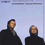 Schoenberg: Complete Works for Violin and Piano (CD)