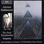 Kokkonen: Symphonies Nos 1,2,3 and 4; Requiem etc (CD)