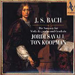 Bach: Sonatas for Viola da gamba and Harpsichord (CD)