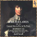 Lawes: Consort Sets in Five and Six Parts (CD)