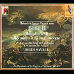 Produktbilde for Biber: Battalia á 10; Requiem á 15 (CD)