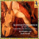 Ferrabosco: Consort Music for Viols (CD)