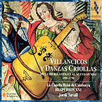 Produktbilde for Villancicos y Danzas Criollas (CD)