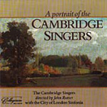 A Portrait of the Cambridge Singers (CD)