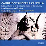 Cambridge Singers a capella (CD)