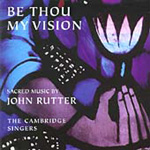 Produktbilde for Rutter: Be Thou My Vision (UK-import) (CD)
