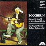 Boccherini: Guitar Quintets 4,5 & 6 (CD)