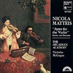 Nicola Matteis: Ayres for the Violin (CD)