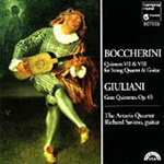 Boccherini/Giuliani: Guitar Quintets, Volume 3 (CD)