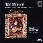 Dowland: Complete Lute Works, Vol. 1 (CD)
