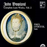 Dowland: Complete Lute Works, Volume 2 (CD)