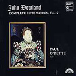 Dowland: Complete Lute Works, Vol. 5 (CD)