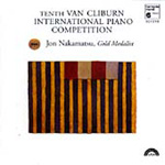 Tenth Van Cliburn International Piano Competition: Jon Nakamatsu (CD)