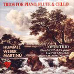 Trios for Piano, Flute and Cello (CD)
