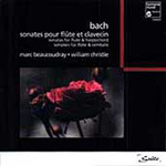 Bach: Sonatas for Flute and Harpsichord (CD)