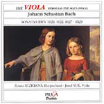 The Viola Through the Ages, Vol 1: Bach (CD)