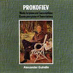 Prokofiev - Piano Works and Transcriptions (CD)