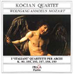 Mozart: String Quartets (CD)