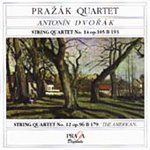 Dvorák: String Quartets Nos 12 & 14 (CD)