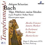 Bach: Psalm 51, BWV1083 (after Pergolesi Stabat Mater); Organ Works (CD)