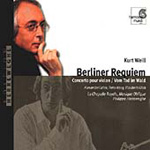 Weill: Orchestral and Choral Works (CD)