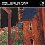 Britten: Sacred and Profane; Elgar: Part Songs; Vaughan Williams: Shakespeare Songs (CD)