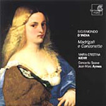 D'India: Madrigals and Canzonettes for solo voice (CD)
