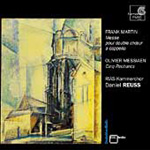 Martin: Mass for Double Choir; Messiaen: (5) Rechants (CD)