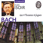 Bach: (4) Toccatas and Fugues for Organ (CD)