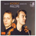 Kodály: Sonata for Solo Cello; Duo for Violin & Cello (CD)