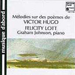 Melodies of the poems of Victor Hugo (CD)