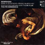 Monteverdi: Masses (CD)