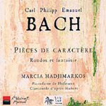 Bach, CPE: Character Pieces for Keyboard (CD)