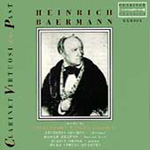 Clarinet Virtuosi of the Past: Heinrich Baermann (CD)