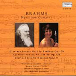 Brahms: Music for Clarinet (CD)