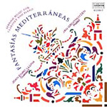 Fantasías Mediterráneas-Spanish Music for Clarinet and piano (CD)